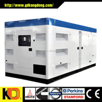 Good price and fquality 300kw 375Kva silent generator with Cunmmins engine NTA855-G2A
