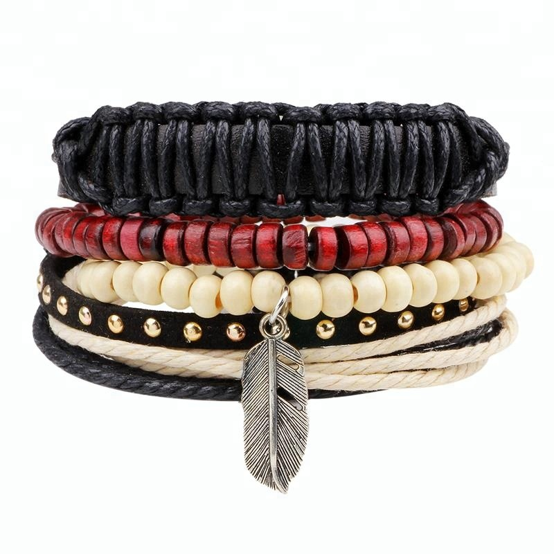 Bracelets & Bangles New Fashion 12 Constellations Leather Zodiac Sign With Beads Punk Bangle Bracelets For Men Boys Jewelry Travel Accessories Gifts Do You Want To Buy Some Chinese Native Produce?