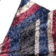 wholesale british flag strip pattern sequins embroidery fabric dress