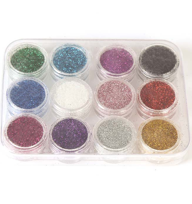 Colorful <strong>Glitter</strong> <strong>Nail</strong> Art Decoration <strong>Nail</strong> <strong>Glitter</strong> <strong>Powder</strong>