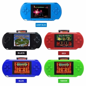 2019 Children handheld video game player PXP3 16Bit games console With Gamecard for Christmas gift