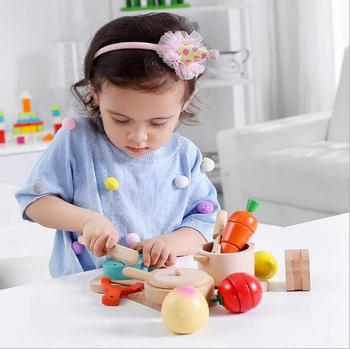 Wooden Kitchen Cooking Children Cut Off Every Family Early Education  Cutting Toy Educational Toys - Buy Cutting Toy,Educational Toy,Wood Toy  Product