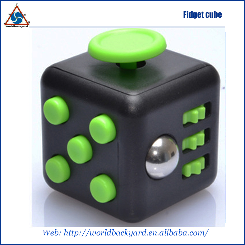 anti stress cube Mini Fidget Cube 6 side fidget cube relieves stress and anxiety