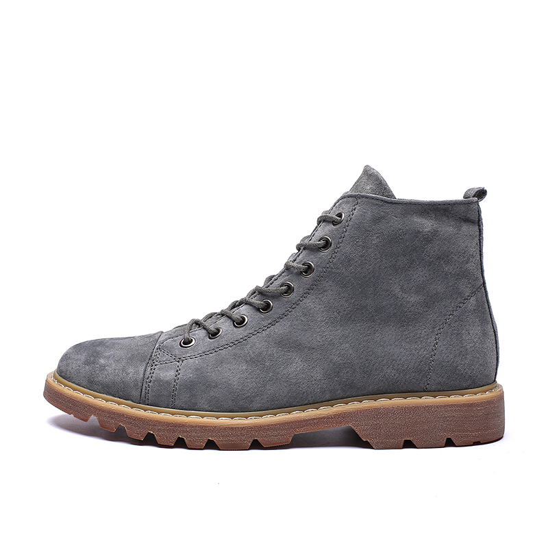 mens desert <strong>boots</strong> dark brown high cut matin <strong>boots</strong> mens casual <strong>boots</strong>