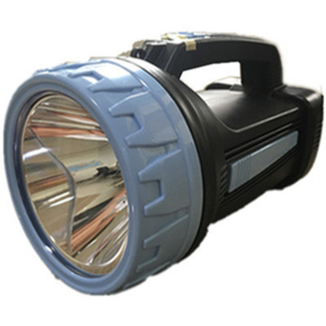 Led rechargeable high power led spotlight plastic super brightness emergency searchlight