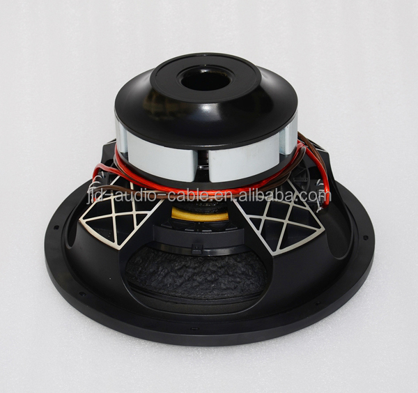Made in China Subwoofers with RMS 1500w Car noe subwoofer neodymium magnet motor