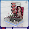 TSD-A199 Custom shopping mall table retail acrylic lipstick display stand,lipstick rack,cosmetics display units