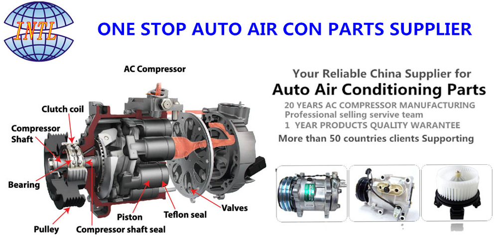 Auto Ac Compressor for Ford Explorer For Lincoln MKT DA8Z19703A Four Seasons 197358
