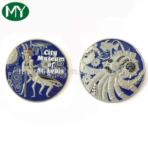 Factory price customized soft enamel quality 3D challenge coin