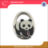 panda bag accessory China birthday party items school bag hook with bearcat zinc alloy foldable panda handbag hanger