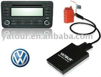 Digital Cd Changer Car Usb Sd Mp3 Interface For Vw Gamma 4 Buy Usb Sd Mp3 Interface Car Usb