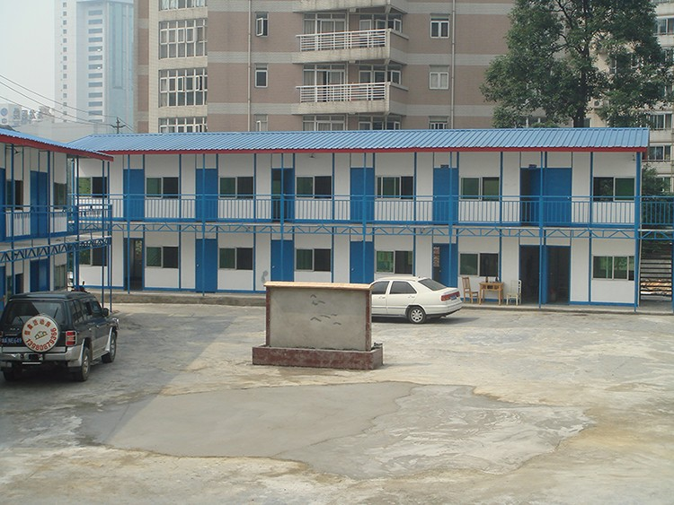 Cheap steel material large span prefab apartment building