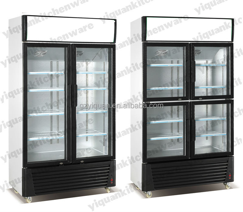 Vertical Beverage Coolerelectric Glass Door Drink Showcase Buy