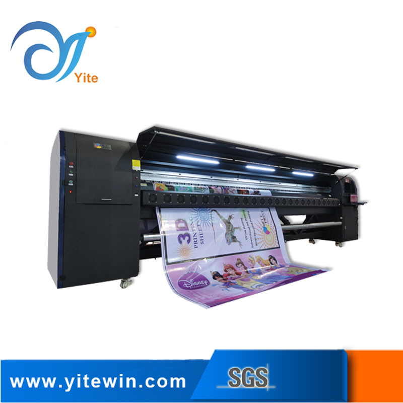 From guangzhou yite banner and paper wall allwin konica printing machine