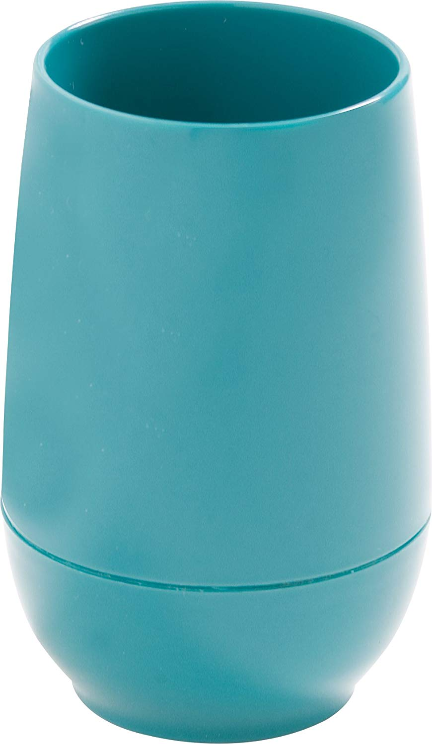 """Dinex DX119215 Urethane Foam Insulated Juice Cup, 2-39/64"""" Diameter x 4-7/64"""" Height, 6 oz. Capacity,, 2.625"""" Length, 2.625"""" Width, 8.75"""" Height, Teal (pack of 24)"""
