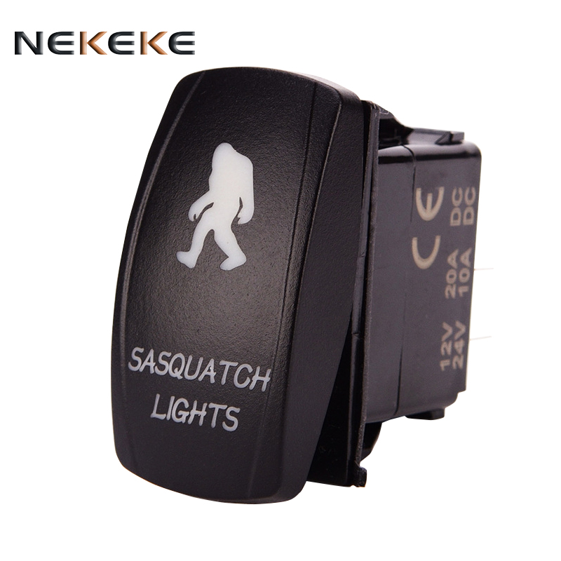 2017 hot Selling the world Competitive Price SPST ON-OFF marine led rocker switch