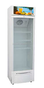 Juka 158L solar dc cold showcase display refrigerators