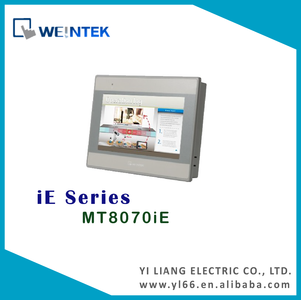 "Weintek MT8070iE 7"" TFT hmi touch screen"