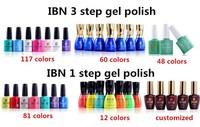 IBN Gel Nail Polish Soak Off UV Nail Gel Polish For UV LED Lamp Wholesale Price