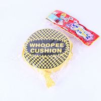 Makes fart sound self-inflating hygienic whoopee cushion//