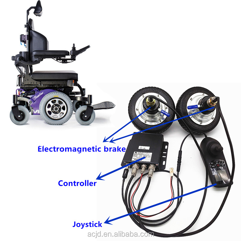 Rehabilitation Equipment Battery Power Foldable Electric Wheel Chair with Joystick Controller/Electric Wheelchair Motor