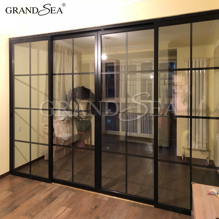 Venta al por mayor puertas correderas aluminio exterior - Puerta corredera de aluminio ...