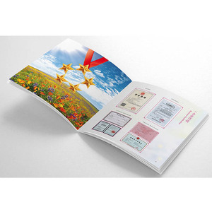 Favorites Compare Glossy lamination advertising Book/ Flyers / Leaflet / Catalogue