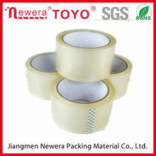 Custom printed paper core water based bopp packing tape China Cheapest