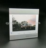 Custom 12 Month Calendar Photo Frame Desk Picture Frame
