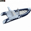 CE over 20years CE cheap factory price 8 persons 5.2m fiberglass fishing boat with 100hp outboard motor