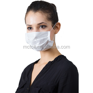 Wholesale cheap disposable paper face mask for food service