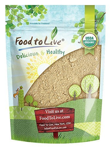 Organic Red Maca Powder by Food to Live (Raw Ground Maca Root, Non-GMO, Kosher, Fine Flour, Bulk) — 8 Ounces