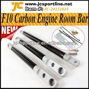 Auto Tunning Carbon suspension Strut Braces Engine Room Balance Bar for BMW F10 F10 Strut Braces