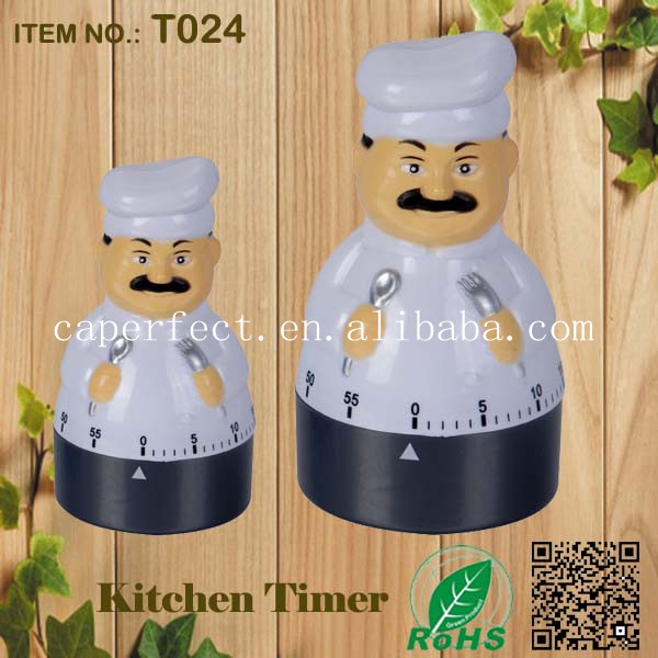 kitchen supplies novelty mechanical timer relay with alarm