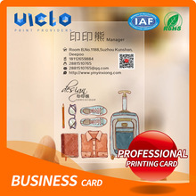 2017 hot style thick business cards From China supplier