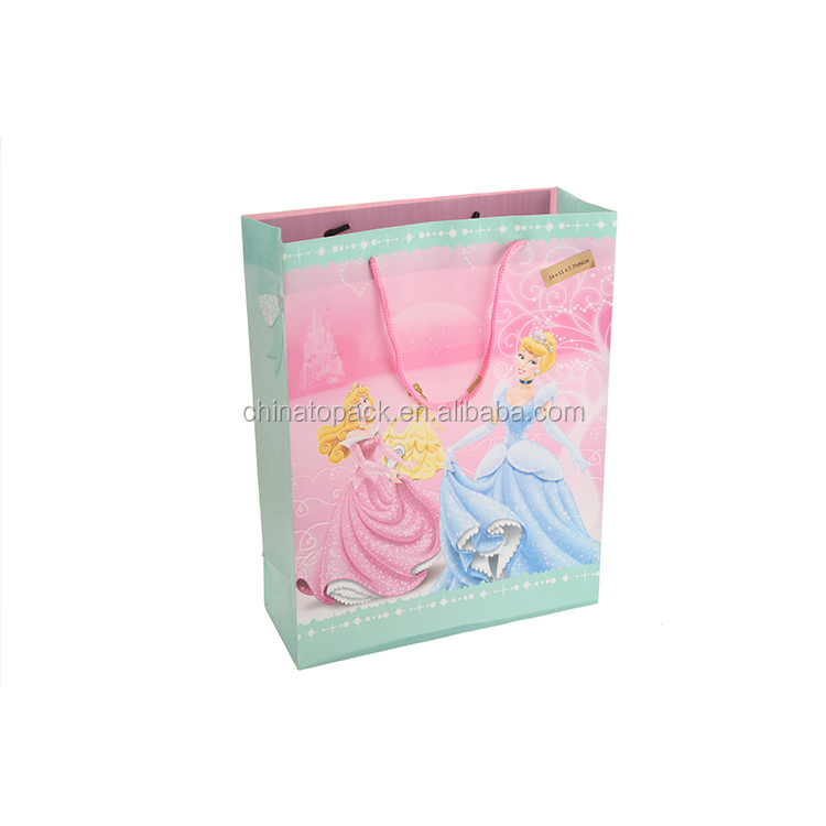 Modern Style OEM Quality Beautiful Fancy Wedding Gift Carrier Paper Bag