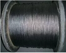 Diameter 3 mm 316 Stainless Steel Wire Rope 7 x 7 Construction