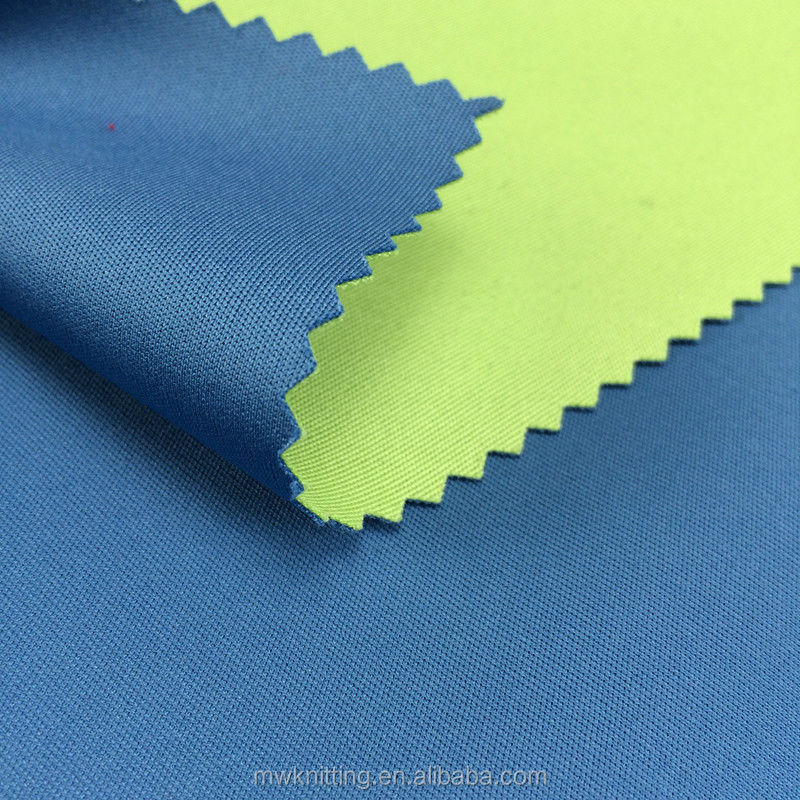 China suppliers printed odor absorbing 2 layers fabric for basketball team clothing