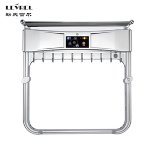 Wall mounted electric stainless steel heated towel dryer warmer rack