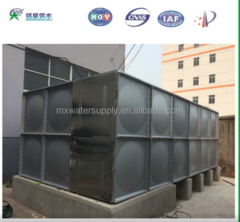 Safety & Solid Stainless Steel Water Storage Tank Price For Sale /  Customized With China National Standard - Buy Safety & Solid Stainless  Steel Water