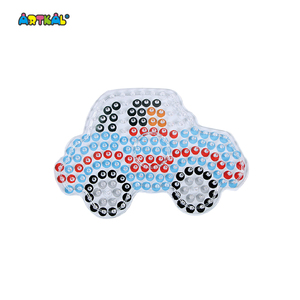 10mm Artkal Hama Car Pattern Beads Pegboard Xp07