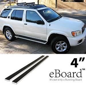 "4/"" Black eBoard Running Boards Fit Nissan Pathfinder 99-04"