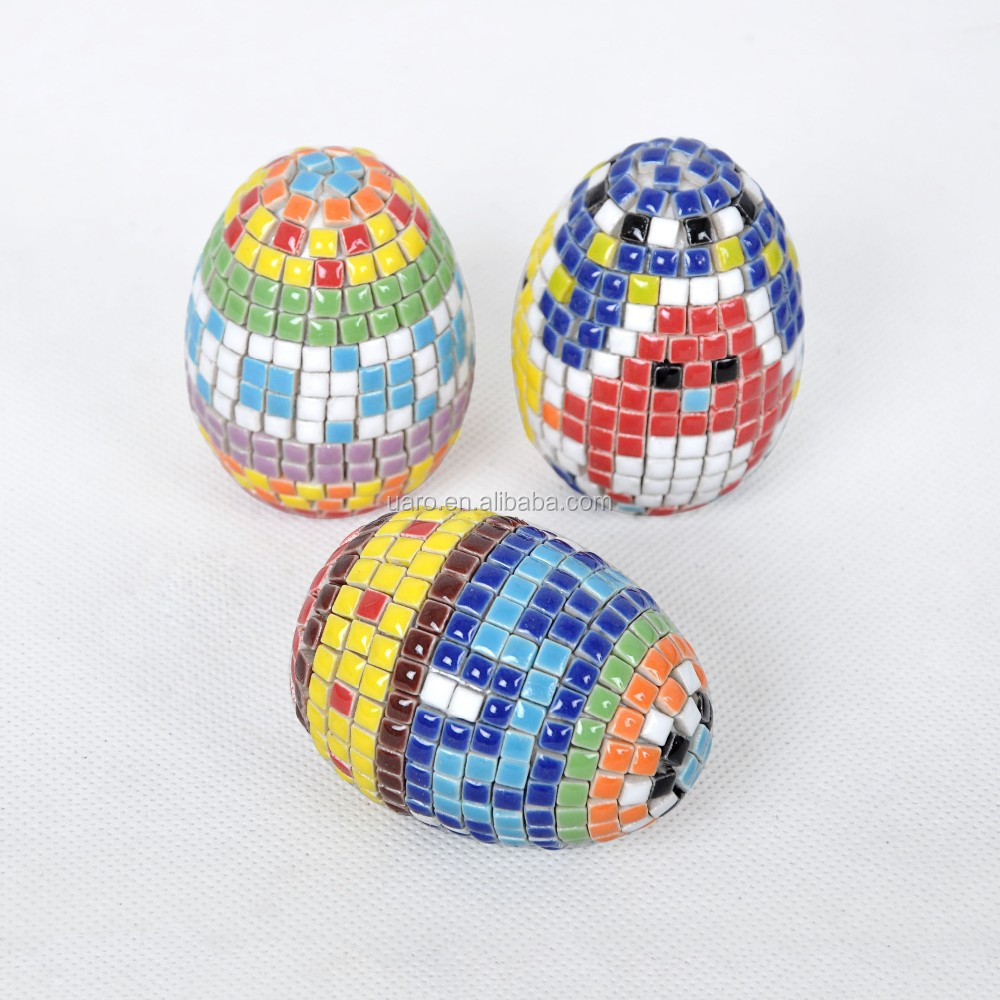 Decoration for Easter/DIY Ceramic Mosaic Easter Egg
