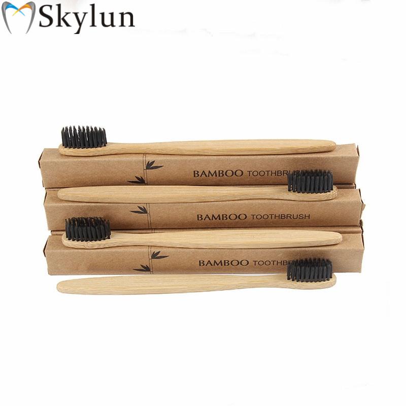 最新歯科口腔衛生卸売健康竹木製ハンドル天然歯ブラシ