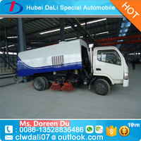 small street sweeper road sweeping truck swifter sweeper 4x2 road sweeper truck