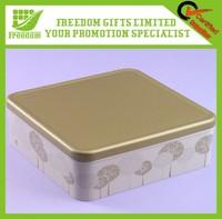 Promotion Logo Printed Small Tin Box