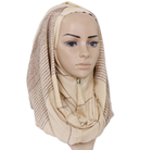 ZIPEI spun gold cotton 2019 wholesale scarf wedding hijab manufacturer Muslim arab sexy scarf