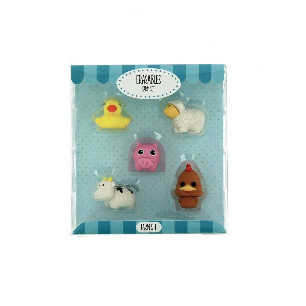 3dRose cst/_79254/_2 Happy Playful Monkey Childrens Art Animals Soft Coasters Set of 8