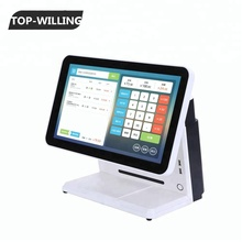 T156POS Touch Panel 15.6 inch Wide Restaurant POS System with software