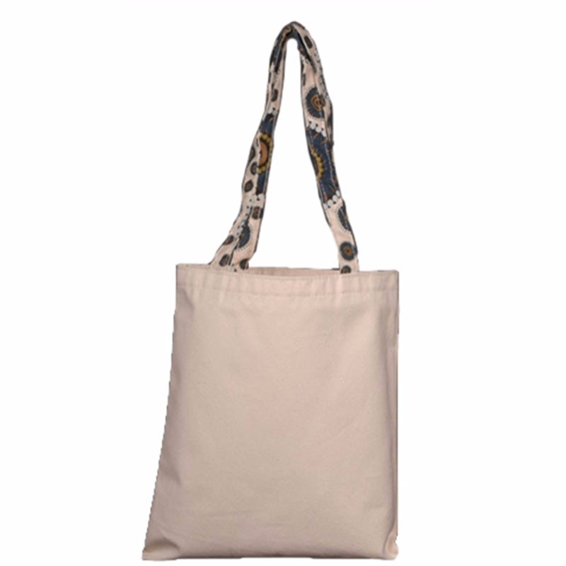 cotton fabric cloth material canvas tote shopping market packing bags